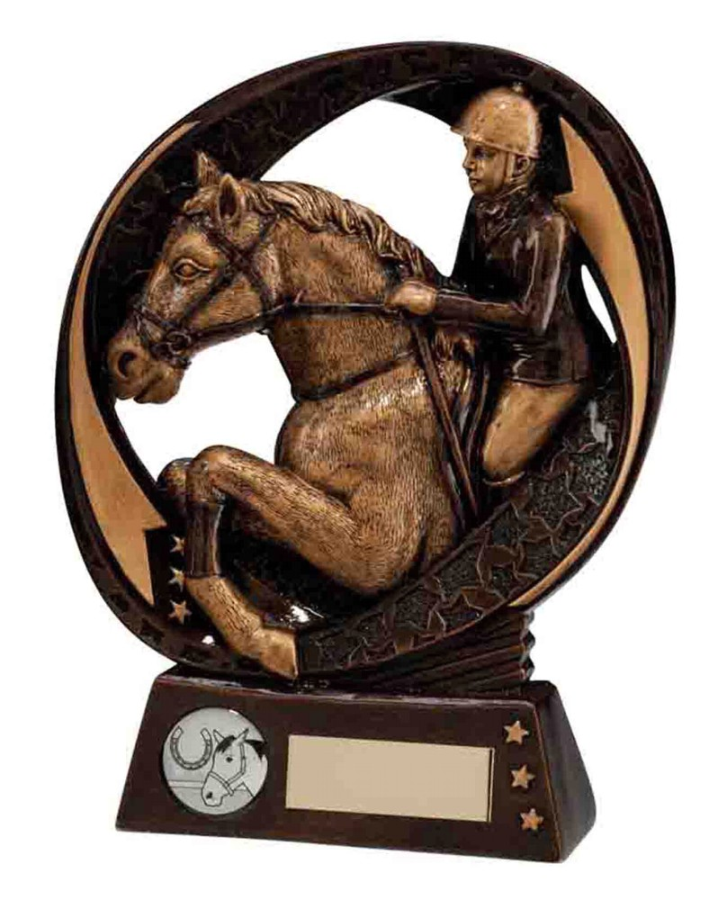 Resin Typhoon Horse Equestrian Trophies A1 Trophies