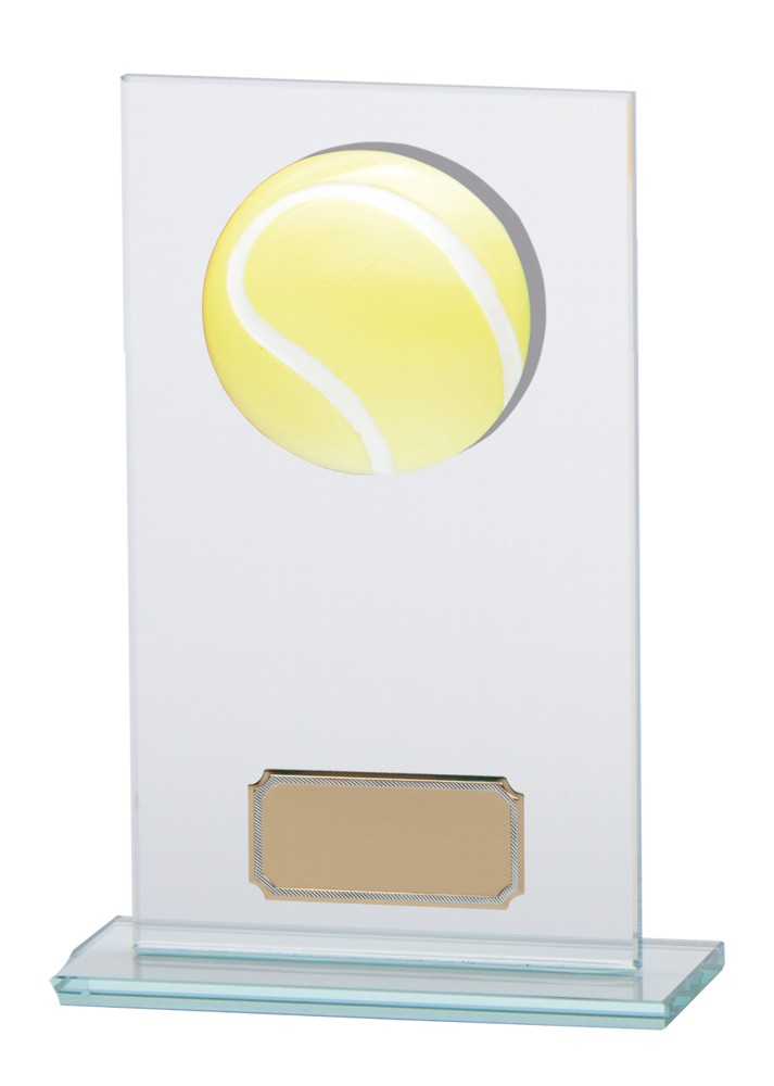 Tennis Premium Jade Glass Trophies