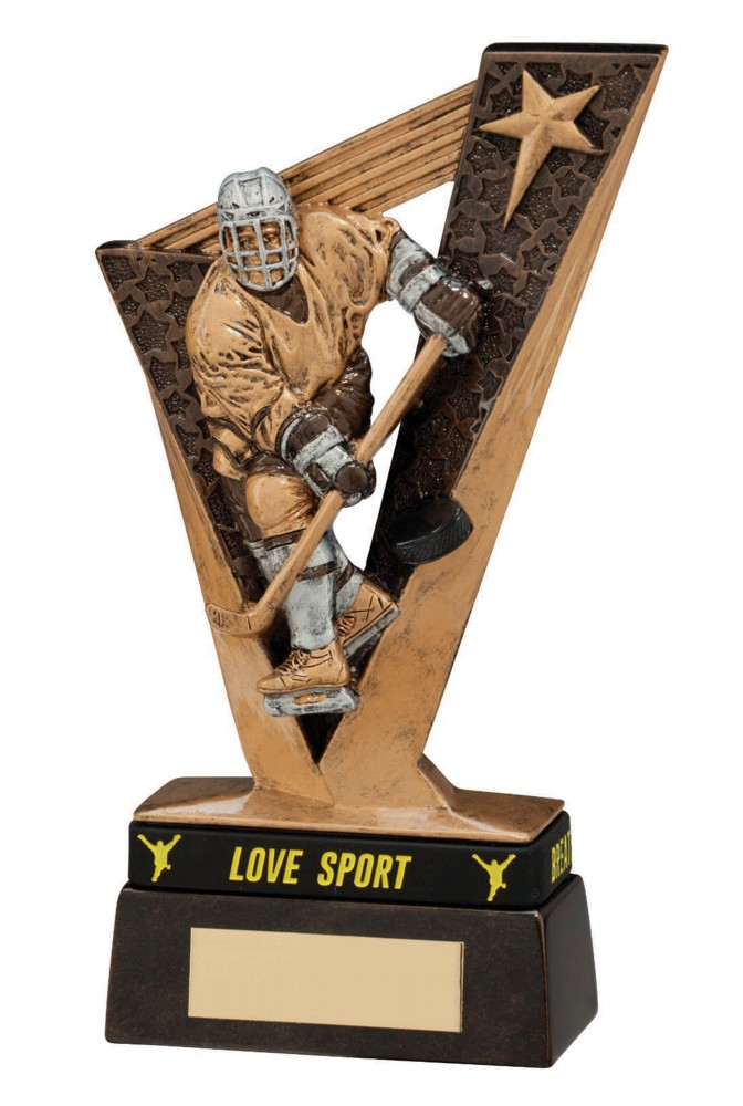 Resin Victory Ice Hockey Trophies