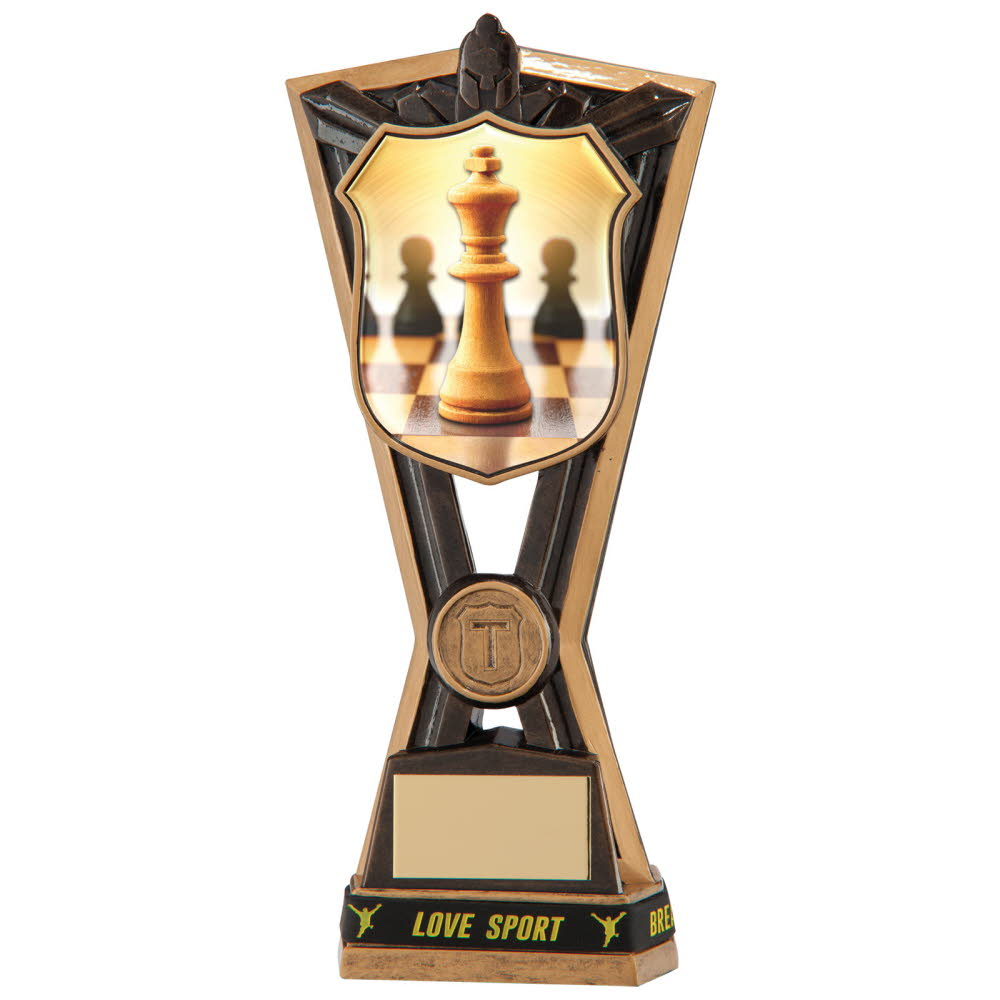 Resin Chess Titans Trophies