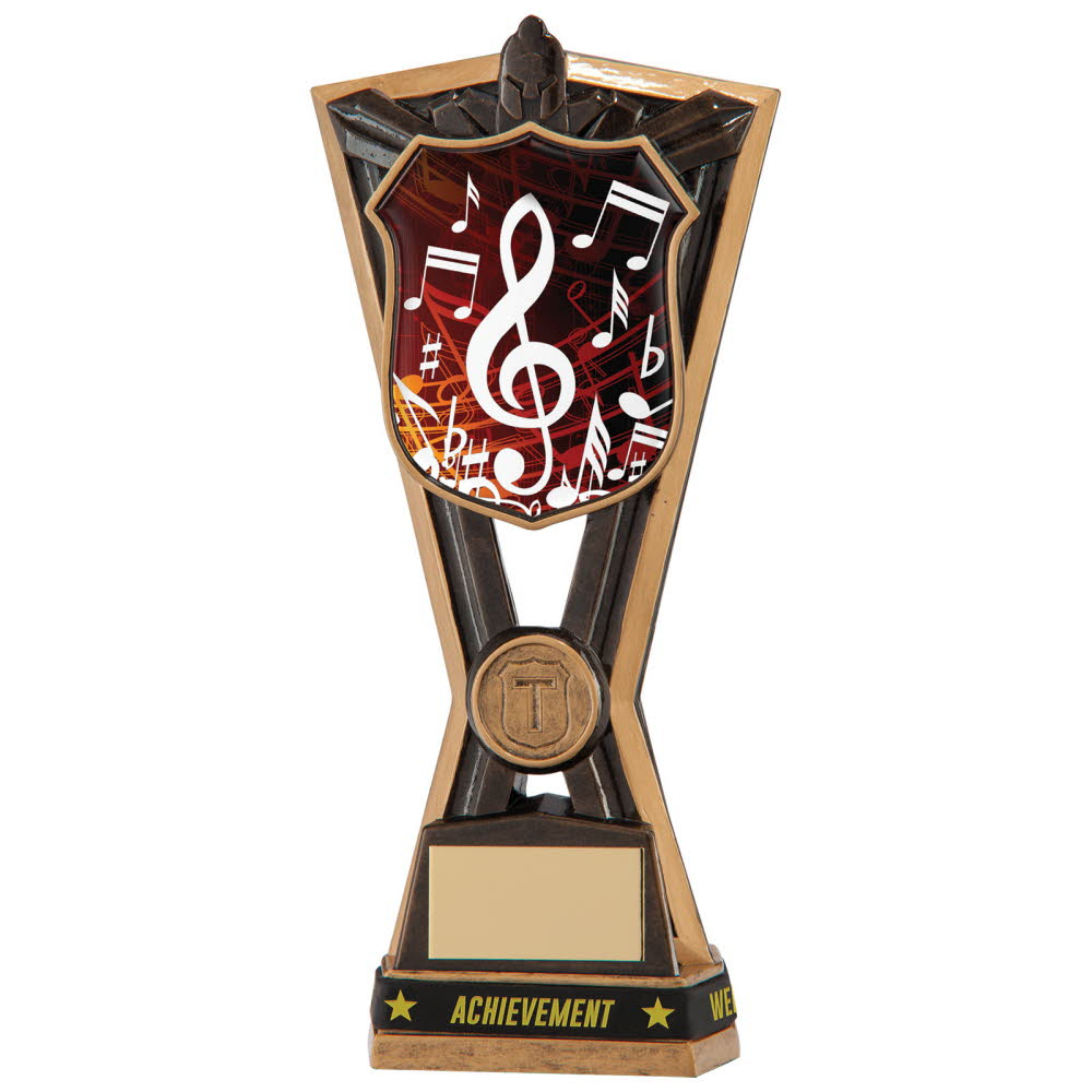 Resin Music Titans Trophies