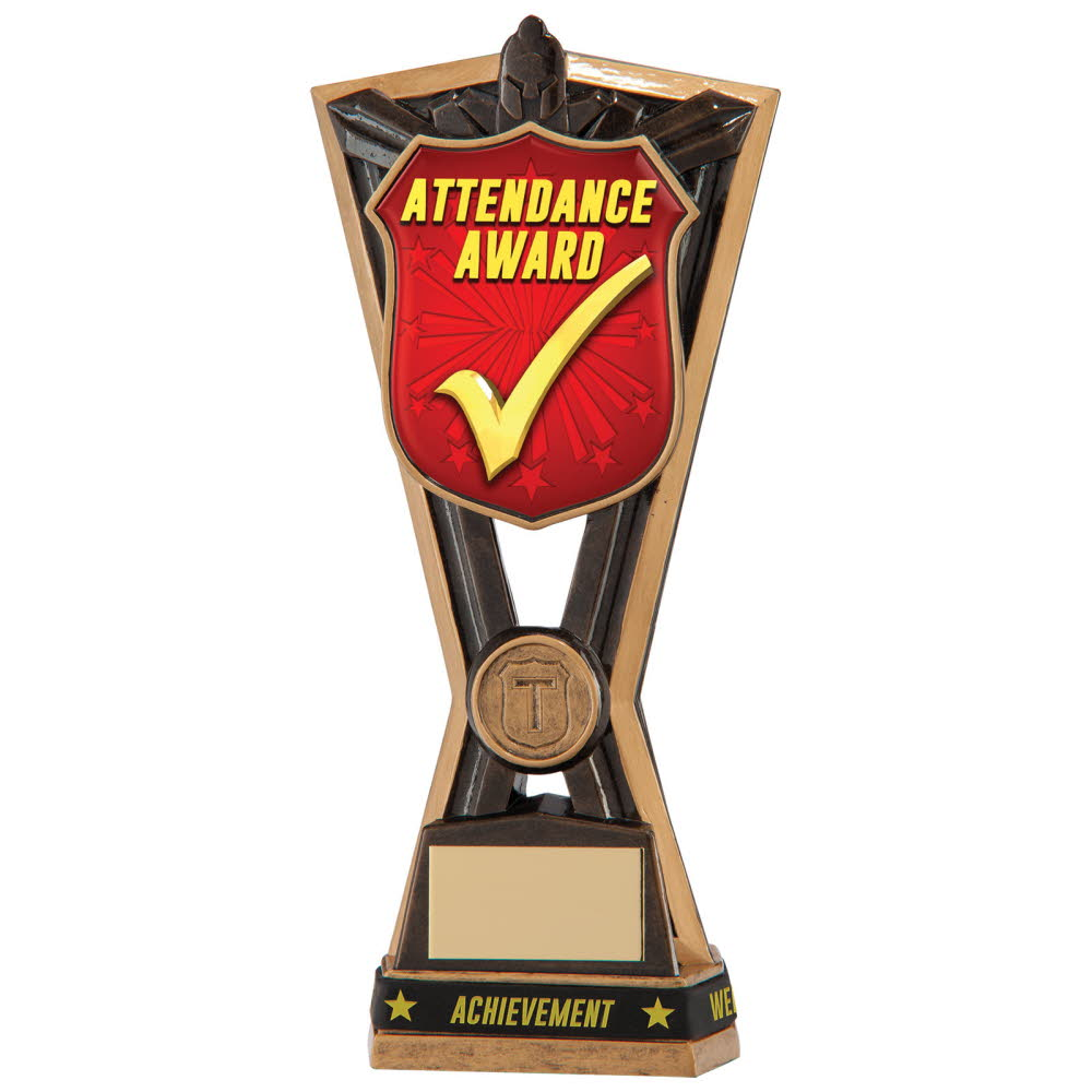 Resin Attendance Award Titans Trophies