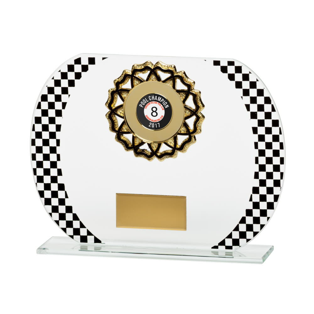 Any Sport Grand Prix Glass Plaques