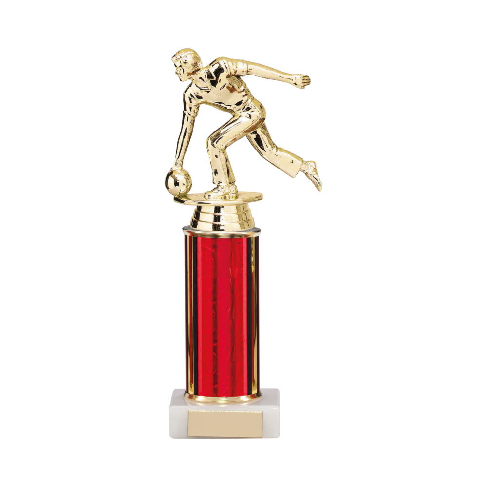 Any Sport Figure Trophies Red Tubing
