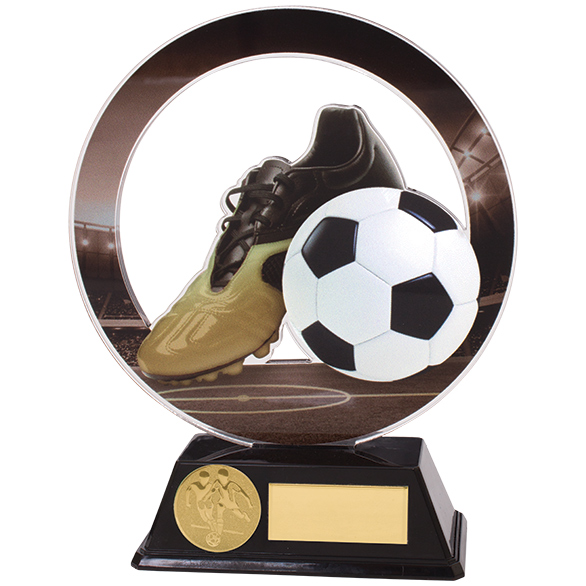 Dominon Acrylic Football Trophies