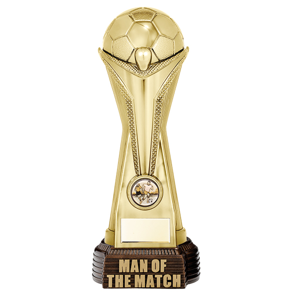 World Cup Man of the Match Football Trophies