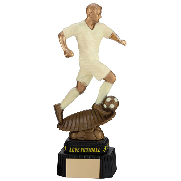 Spirit Storm Football Figure Trophies