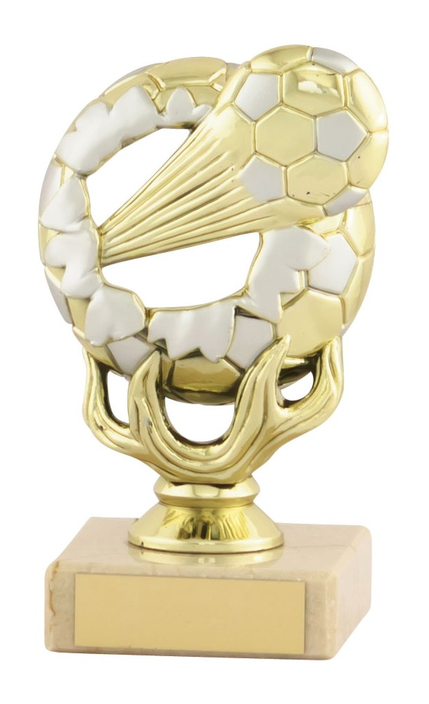 Budget Football Explode Ball Trophies
