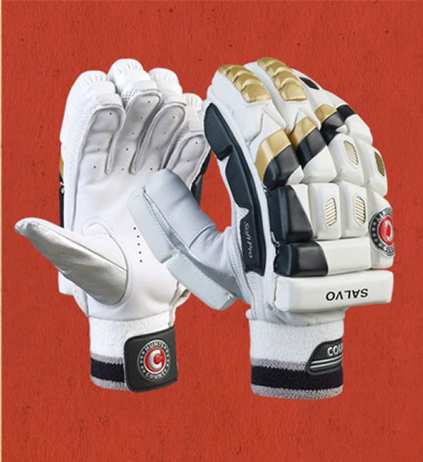 County Cricket Batting Gloves Salvo