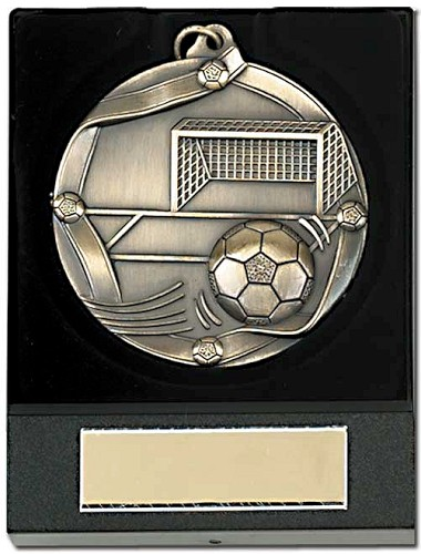 Boxed Football Medals