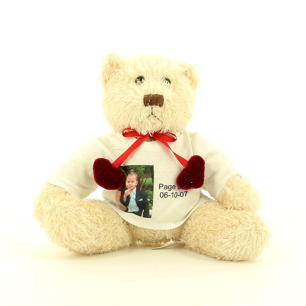 Personalised Photo Teddy and T-Shirt