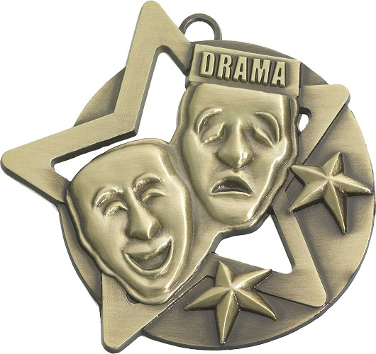 Drama Medals and Ribbons