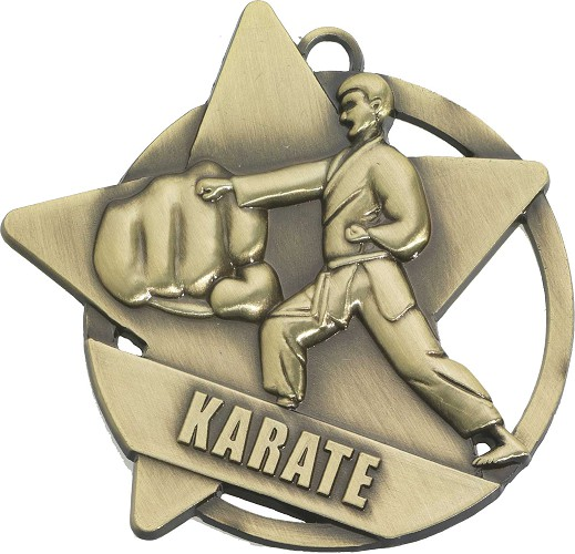 Karate Medals and Ribbons