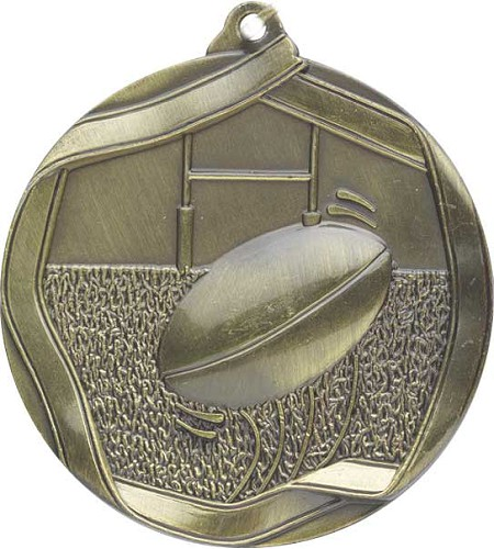 Rugby Medal and Ribbon