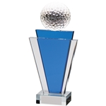 Crystal Golf Ball Gauntlet Tower Trophies