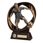Typhoon Resin Football Player Trophies