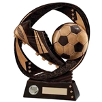 Typhoon Resin Football Boot & Ball Trophies