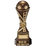 All Stars Man of the Match Football Trophies
