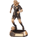 Resin Marauder Female Football Figure Trophies