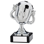 Big Fun Silver Football Cup Trophies