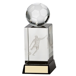3D Cube Football Ball Figure/Player Trophies
