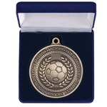 60mm Heavy Football Medals Boxed
