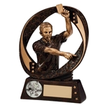 Resin Typhoon Referee Football Trophies