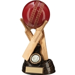 Resin Century Tri-Bat Cricket Ball Trophies