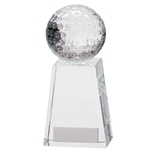 Crystal Voyager Golf Ball Trophies