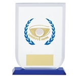 Longest Drive Golf Premium Glass Trophies