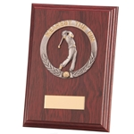 Nearest The Pin Galway Mahogany Wooden Plaques