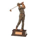 Classical Male Golf Figure Trophies