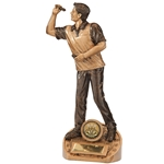 Bullseye Male Darts Figure Trophies