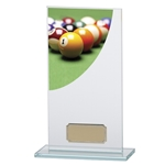 Pool Curve Premium Jade Glass Trophies