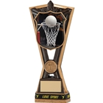 Resin Netball Titans Trophies