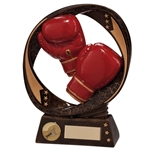 Resin Typhoon Boxing Glove Trophies