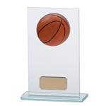 Basketball Premium Jade Glass Trophies