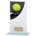 Tennis Premium Glass Plaques