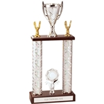 2 Tier 2 Column Tower Trophies