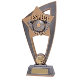 Star Blast Respect Football Trophies