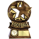 Antique Bronze Football Star Trophies