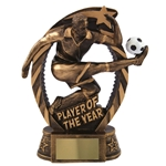 Resin Player of the Year Trophies
