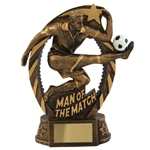 Resin Man of the Match Trophies