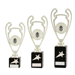Silver Football Cup Trophies