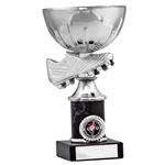 Silver Football Boot Cup Trophies
