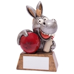 Resin 'What a Donkey!' Ten Pin Bowling Trophies
