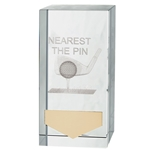 Crystal Nearest The Pin Golf Trophies