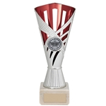 Any Sport Silver & Red Dragon Cup Trophies