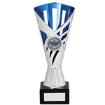 Any Sport Silver & Blue Dragon Cup Trophies