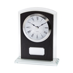 Engraved Alaska Art Deco Clocks